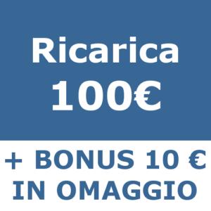 ricarica 100 Catastofast